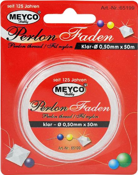 Perlon Thread - 0.15mm x 50m (Item No: 65196)